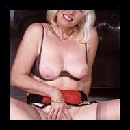Rijpe kut van vrouw van boven de 50 jaar